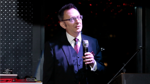 Michael Emerson thanked the family members who so patiently waited as their loved ones filmed the show.