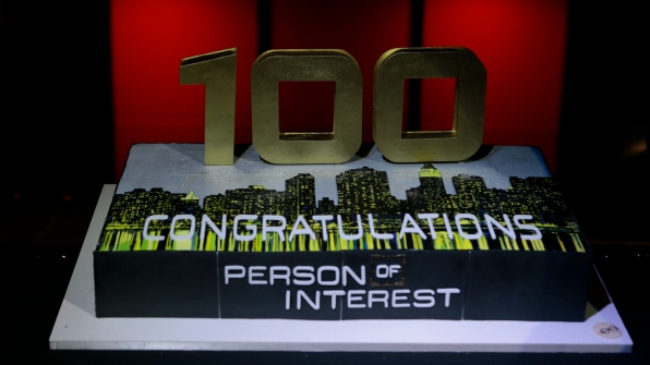 Cheers to 100 episodes of Person Of Interest!