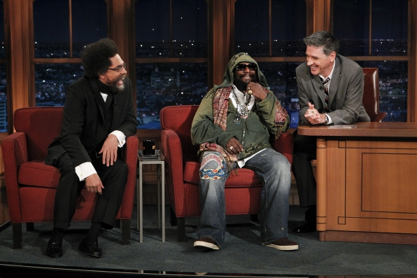 Dr. Cornel West and George Clinton