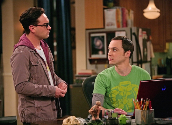 Leonard stands up for Sheldon