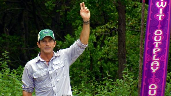 Jeff on Redemption Island