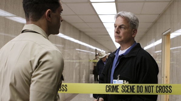 Gibbs' Rule #9: Never go anywhere without a knife.