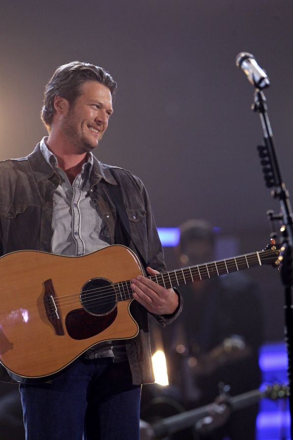 Blake Shelton scheduled to perform on the 48th annual ACM Awards