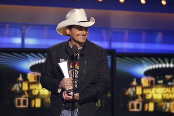 Brad Paisley, headliner of the 3rd Annual ACM Fan Jam