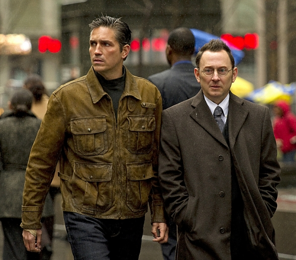 Jim Caviezel and Michael Emerson, Person of Interest