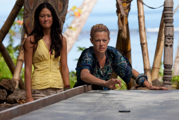 Christine Competes in Redemption Island Duel