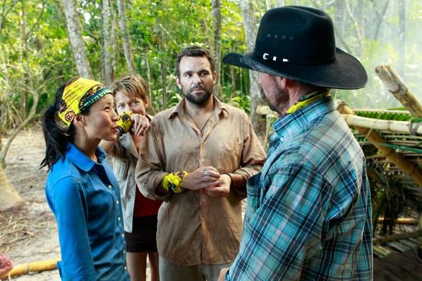 Conversing at Camp