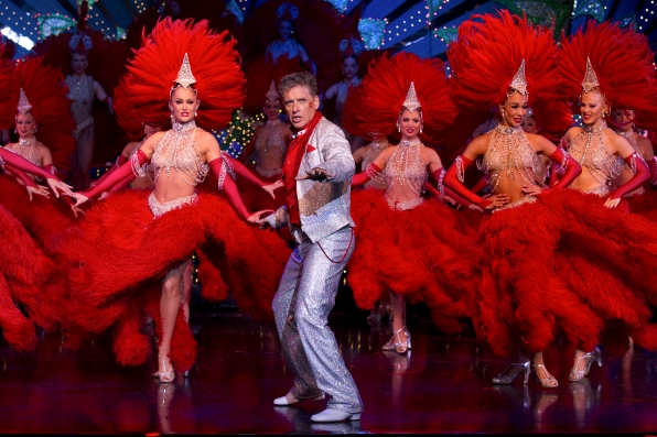 Craig Prepares for His Performance at the Moulin Rouge