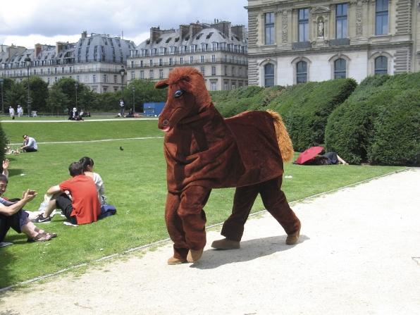 Secretariat at the Tuileries Garden in Paris