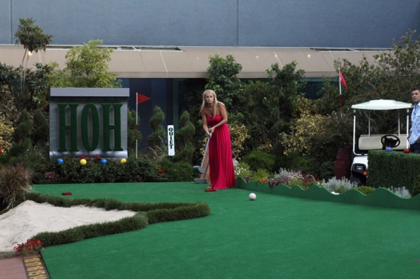 "Jordan During the HoH Competition ""Big Brother Open"""