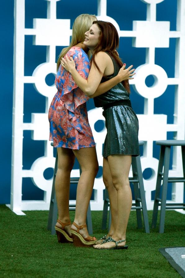 Jordan Congratulates Rachel on Her Second HoH Win