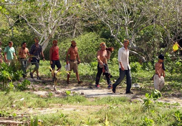 Walking to Camp