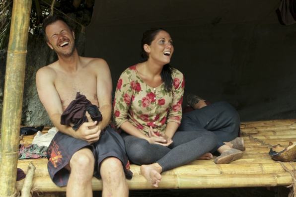 Laughing at Camp