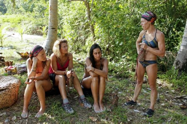 Ladies at Camp