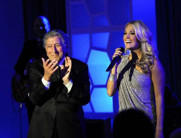 Tony Bennett and Carrie Underwood
