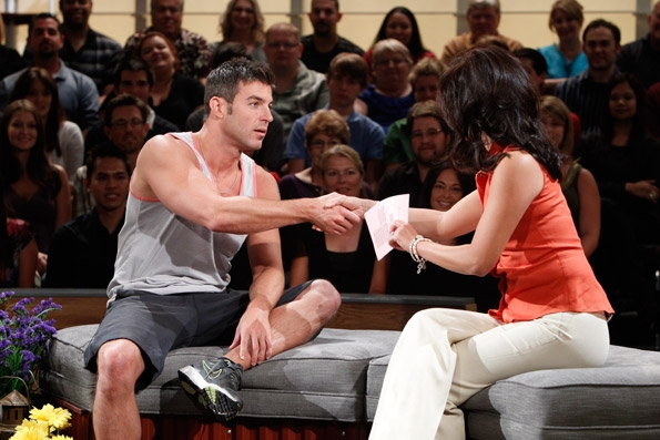 Jeff Shakes Julie's Hand