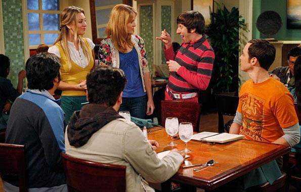 Raj Speaks With a Girl