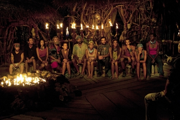Tribal Council During The Merge