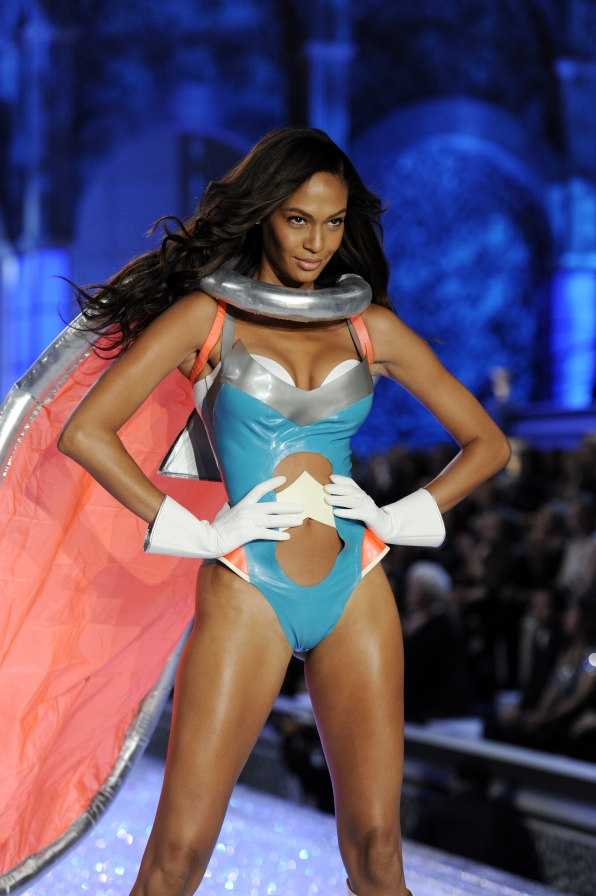 A Model walks the runway at The Victoria's Secret Fashion Show