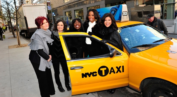 Cab Arrival in NYC