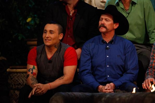 Brandon and Rick During Reunion Show