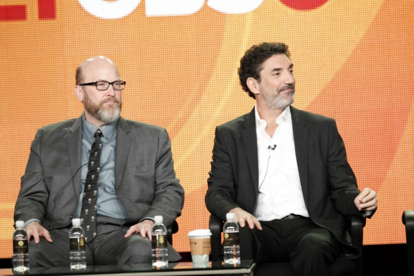 Mark Roberts and Chuck Lorre