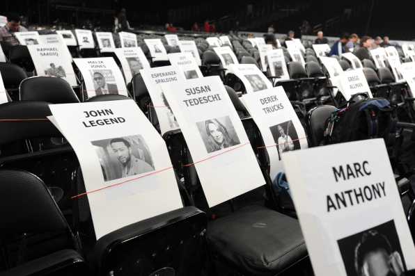 GRAMMY Seating