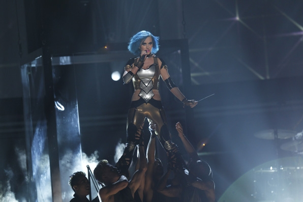 (2012) We're not concerned whether Katy's from outer space or not, just as long as she keeps us mesmerized.