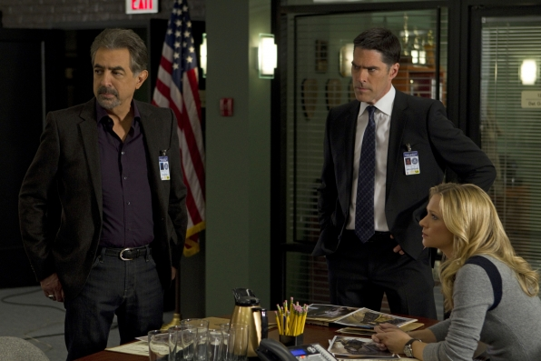 Rossi, Hotch and JJ
