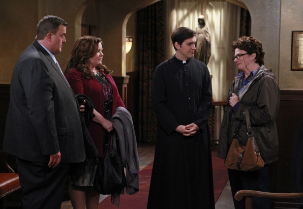 Mike, Molly, Father Justin and Peggy