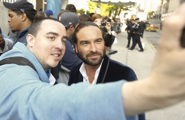 Johnny Galecki on the Red Carpet