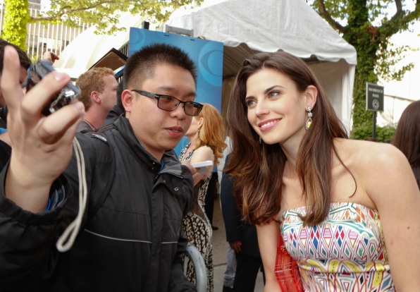 Meghan Ory on the Red Carpet