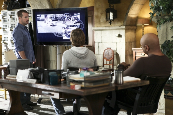 G. Callen, Marty Deeks, and Sam Hanna