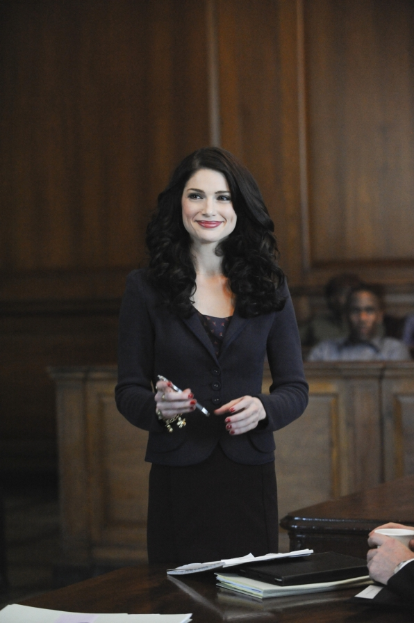 Martina in the Courtroom