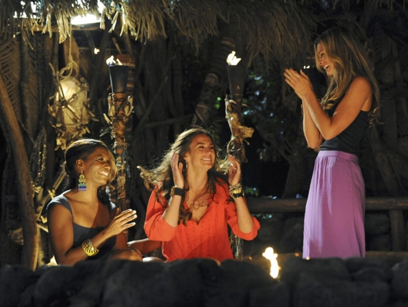 Kim is Crowned The Winner of Survivor: One World