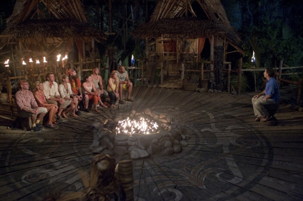 "Tribal Council on ""There's Gonna Be Hell to Pay"" Season 26 Episode 3"