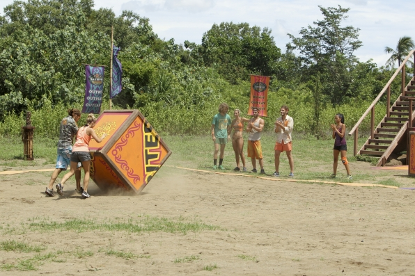 """Andrea and Malcolm compete in """"Operation Thunder Dome"""" Episode 6 of Season 26"""