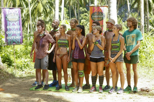 "The tribe in ""Cut Off the Head of the Snake"" Episode 9 of Season 26"