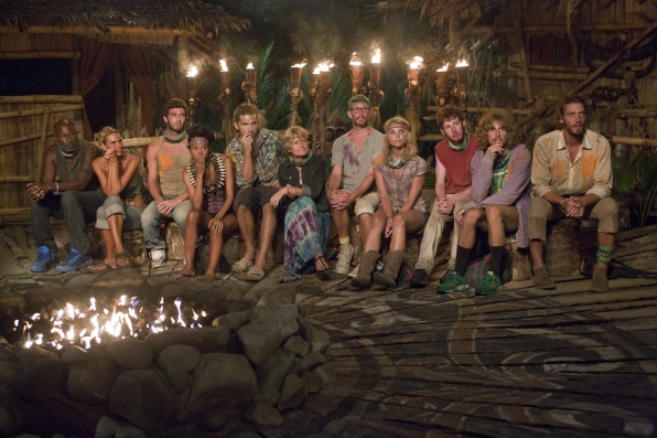 "Tribal council in ""Cut Off the Head of the Snake"" Episode 9 of Season 26"