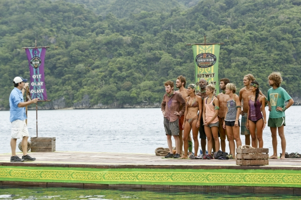 "Immunity challenge in ""Zipping Over the Cuckoo's Nest"" Episode 10 of Season 26"