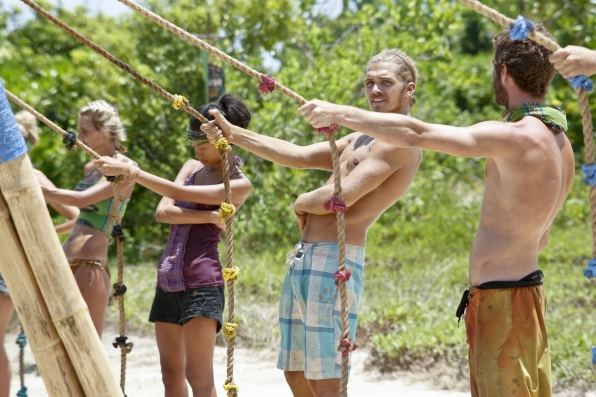 "Survivors compete in ""Come Over to the Dark Side"" Episode 11 of Season 26"