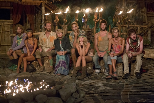 "Tribal Council in ""Come Over to the Dark Side"" Episode 11 of Season 26"