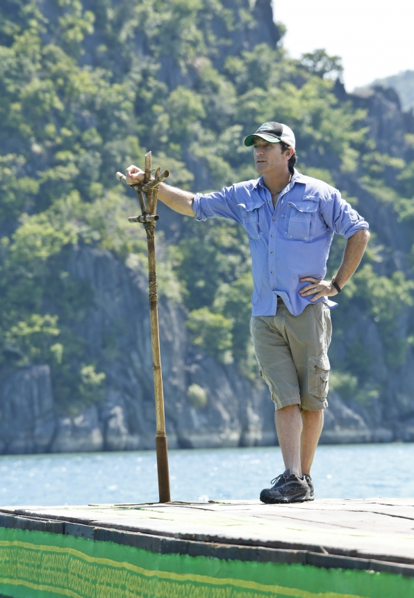 "Jeff Probst in ""The Beginning of the End"" Episode 12 of Season 26"