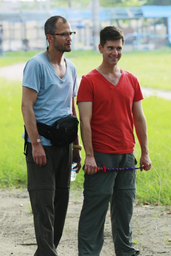 Josh and Brent
