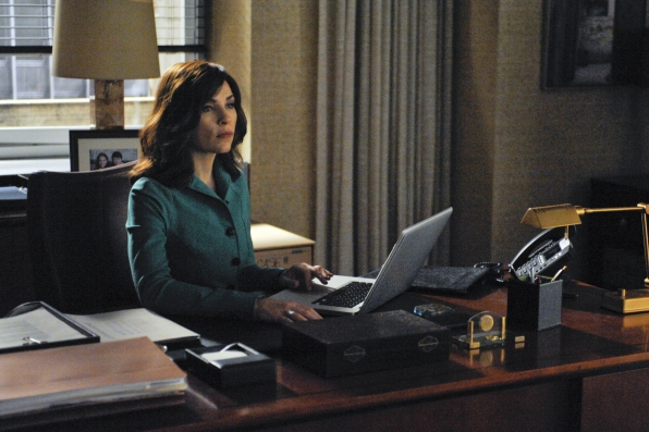 Alicia at Her Computer