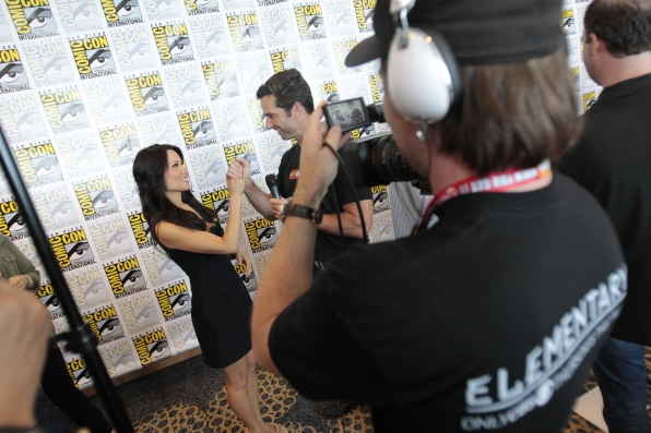 Lucy Liu Talks with Burton Roberts