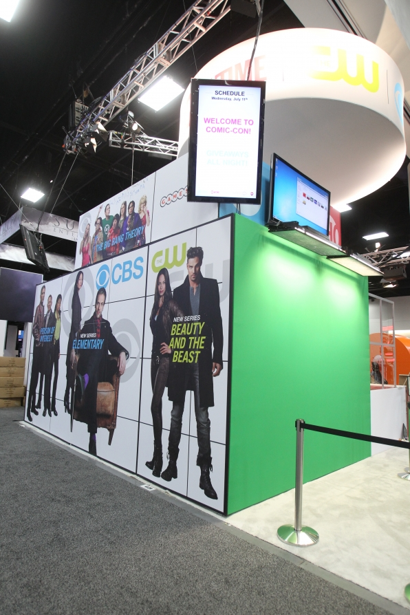 CBS Booth