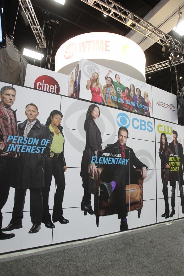 CBS Stars at Comic-Con
