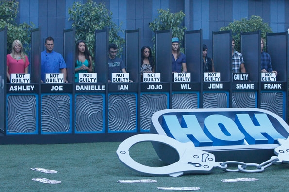 Houseguests Compete in Live HoH Competition