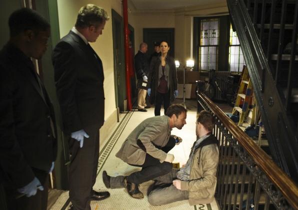 Sherlock and Watson On the Scene